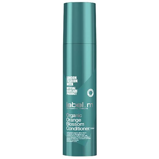 Balsam Organic cu Floare de Portocal pentru Par Fin - Label.m Organic Orange Blossom Conditioner 200ml poza