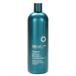Balsam Organic cu Floare de Portocal pentru Par Fin - Label.m Organic Orange Blossom Conditioner 1000ml