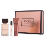 Set Rihanna Rogue pentru Femei - Apa de Parfum 125ml, Apa de Parfum Roll-On 6ml, Lotiune de Corp 90ml