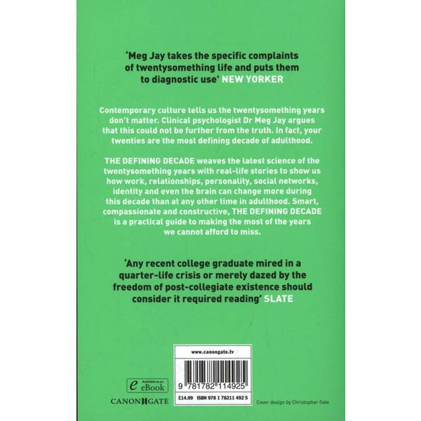 The Defining Decade Ebook