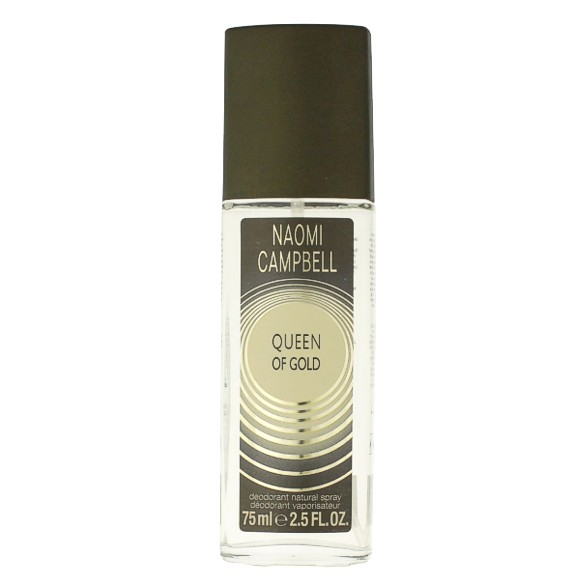 Deodorant Spray Naomi Campbell Queen Of Gold, Femei, 75ml imagine produs