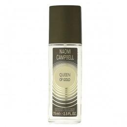 Deodorant Spray Naomi Campbell Queen Of Gold, Femei, 75ml
