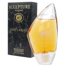 Apa de Toaleta Nikos Sculpture Homme God's Night, Barbati, 100ml