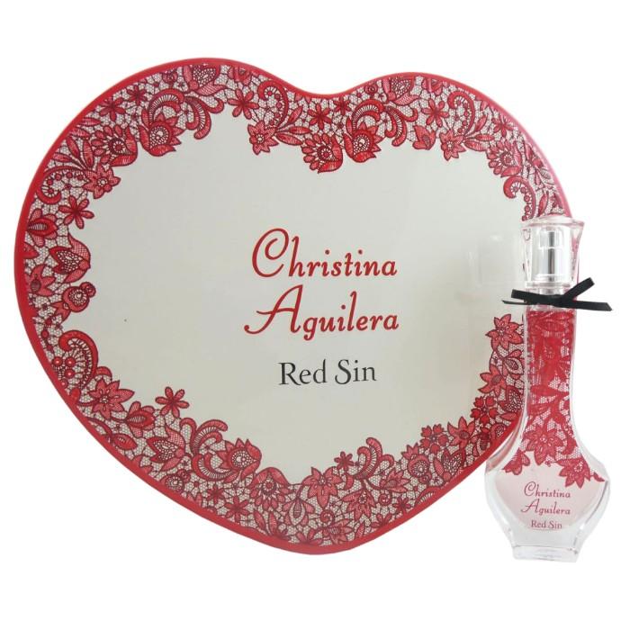 Apa de Parfum Christina Aguilera Red Sin, Femei, 30ml imagine produs