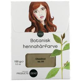 Vopsea de par Henna Botanică Chestnut No.84 Reddish Brown