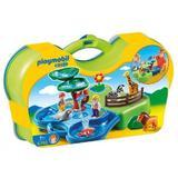 Playmobil 1.2.3 - Gradina zoologica si acvariu