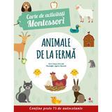 Carte de activitati Montessori: Animale de la ferma, editura Litera