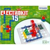 Puzzle electronic Electrokit. 15 experimente