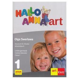 Hallo Anna. Germana - Clasa 1 - Caietul elevului - Olga Swerlowa, editura Grupul Editorial Art