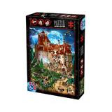 Puzzle 1000. Cartoon Collection - Distractie la castel