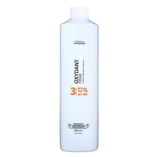 Oxidant 12% - L'Oreal Professionnel Oxydant Creme 40 vol 1000 ml imagine produs
