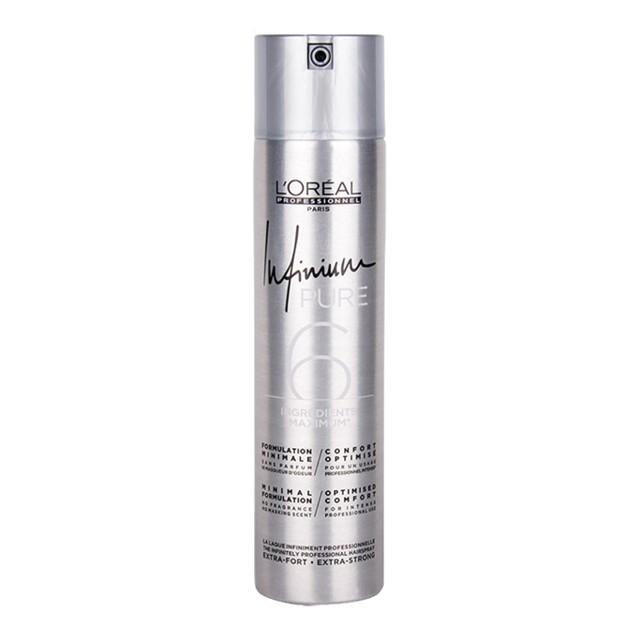 Fixativ cu Fixare Extra-Puternica - L'Oreal Professionnel Infinium Pure Extra-Strong Hairspray, 500ml imagine produs