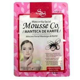 Masca de fata - Mousse CO2 cu Unt de shea, Laboratorio SyS 13g