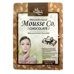 Masca de fata - Mousse CO2 cu Ciocolată, Laboratorio SyS 13g