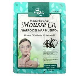 Masca de fata - Mousse CO2 cu Nămol Marea Moartă, Laboratorio SyS 13g