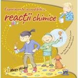 Experimente incredibile cu reactii chimice - Paula Navarro, Angels Jimenez, editura Didactica Publishing House