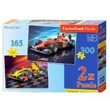 Puzzle 2 in 1 - Racing Cars