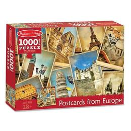 Puzzle 1000, Postcards from Europe. Vederi din Europa