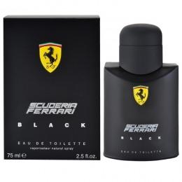 Apa de Toaleta Ferrari Scuderia Ferrari Black, Barbati, 75ml