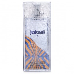 Apa de Toaleta Roberto Cavalli Just Cavalli Him, Barbati, 60ml
