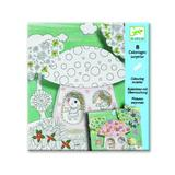 Joc educativ - 4 Coloriages surprise., Thumbelina