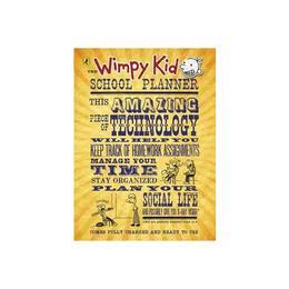Wimpy Kid School Planner, editura Puffin