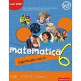Matematica - Clasa 6 Partea I - Caiet Consolidare Ed.2018 - Sorin Peligrad, Adrian Turcanu, editura Paralela 45