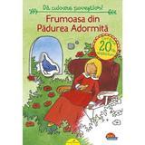 Frumoasa din Padurea Adormita. Da culoare povestilor!, editura All