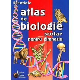 Atlas de biologie scolar pentru gimnaziu, editura Steaua Nordului