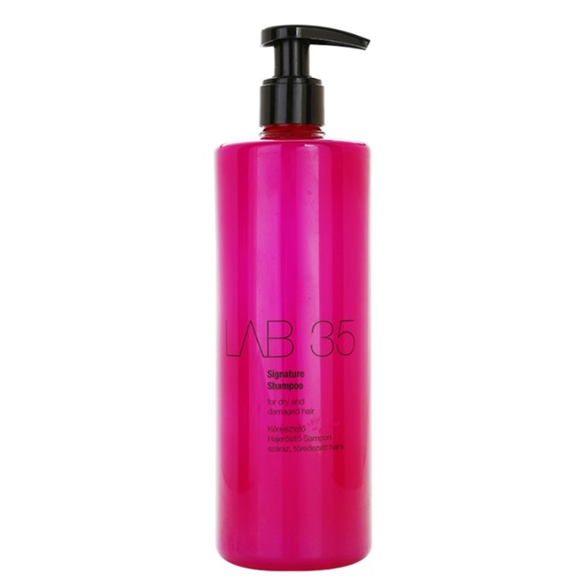 Sampon pentru Par Uscat si Deteriorat - Kallos LAB 35 Signature Shampoo for Dry and Damaged Hair, 500ml imagine