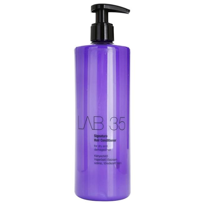 Balsam pentru Par Uscat si Deteriorat - Kallos LAB 35 Signature Hair Conditioner for Dry and Damaged Hair, 500ml imagine produs