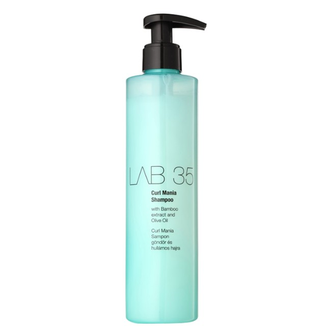 Sampon pentru Par Cret si Ondulat - Kallos LAB 35 Curl Mania Shampoo, 300ml imagine