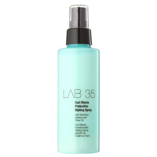 Spray pentru Par Cret si Ondulat - Kallos LAB 35 Curl Mania Protective Styling Spray, 150ml imagine produs
