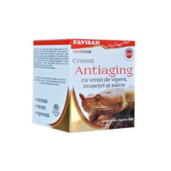 Crema Antiaging cu Venin de Vipera Favivenom Favisan, 50ml imagine produs
