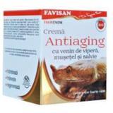 Crema Antiaging cu Venin de Vipera Favivenom Favisan, 50ml