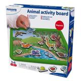 Animal activity board. Tablita magnetica cu animale