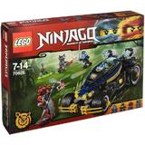 LEGO Ninjago - Vehiculul Samurai VXL
