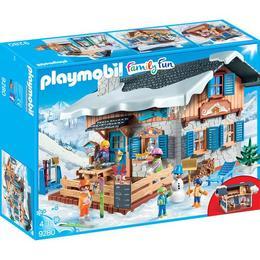 Playmobil Family Fun - Cabana Schiorilor