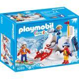 Playmobil Family Fun - Bataie cu Zapada