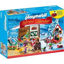 Playmobil Christmas - Calendar Craciun - Atelierul Lui Mos Craciun