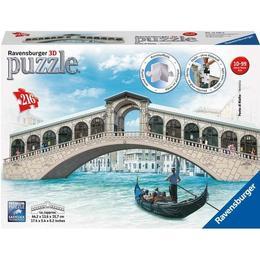 Puzzle 3D Podul Rialto, 216 Piese - Ravensburger