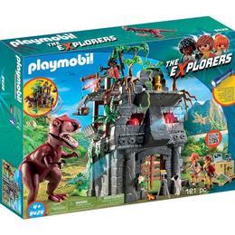 Playmobil Sports Action - Cercetatori - Fortareata Si T-Rex