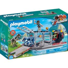 Playmobil Sports Action - Cercetatori - Feribot Si Raptor