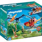 Playmobil Sports Action - Cercetator - Elicopter Si Pterodactyl