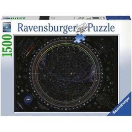 Puzzle Harta Universului, 1500 Piese - Ravensburger