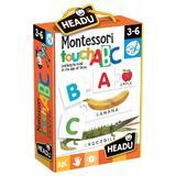 Joc Tactil Montessori Abc - Headu
