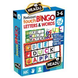 Joc Bingo Atingeti Imagini si Cuvinte - Headu