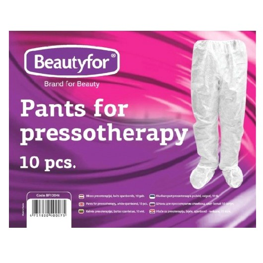 Pantaloni Presoterapie Unica Folosinta - Beautyfor Pants for Pressotherapy, 10 buc imagine produs
