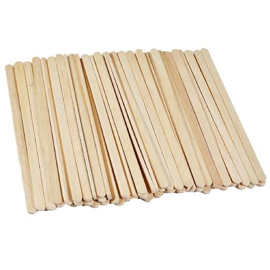 Spatule Lemn Unica Folosinta - Beautyfor Wooden Spatulas, 100 buc imagine produs