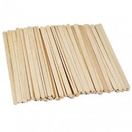 Spatule Lemn Unica Folosinta - Beautyfor Wooden Spatulas, 100 buc